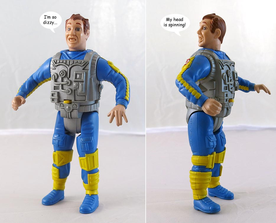 Real Ghostbusters Screaming Heroes Ray Stantz Action Figure (bag 20 )