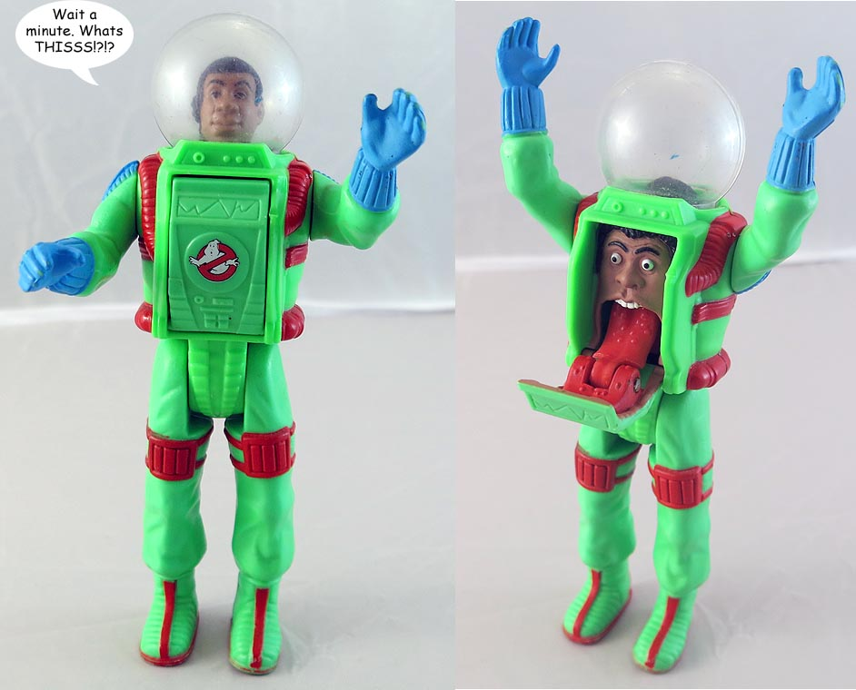 Real Ghostbusters Super Fright Features Winston Action Figure (bag 36 )