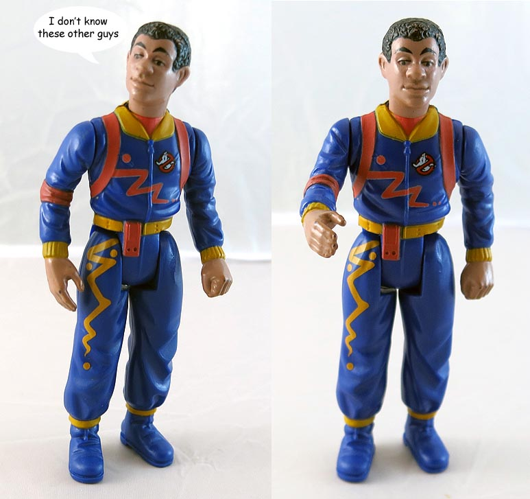 Real Ghostbusters Winston Zeddmore 1984 Action Figure (bag 10 )