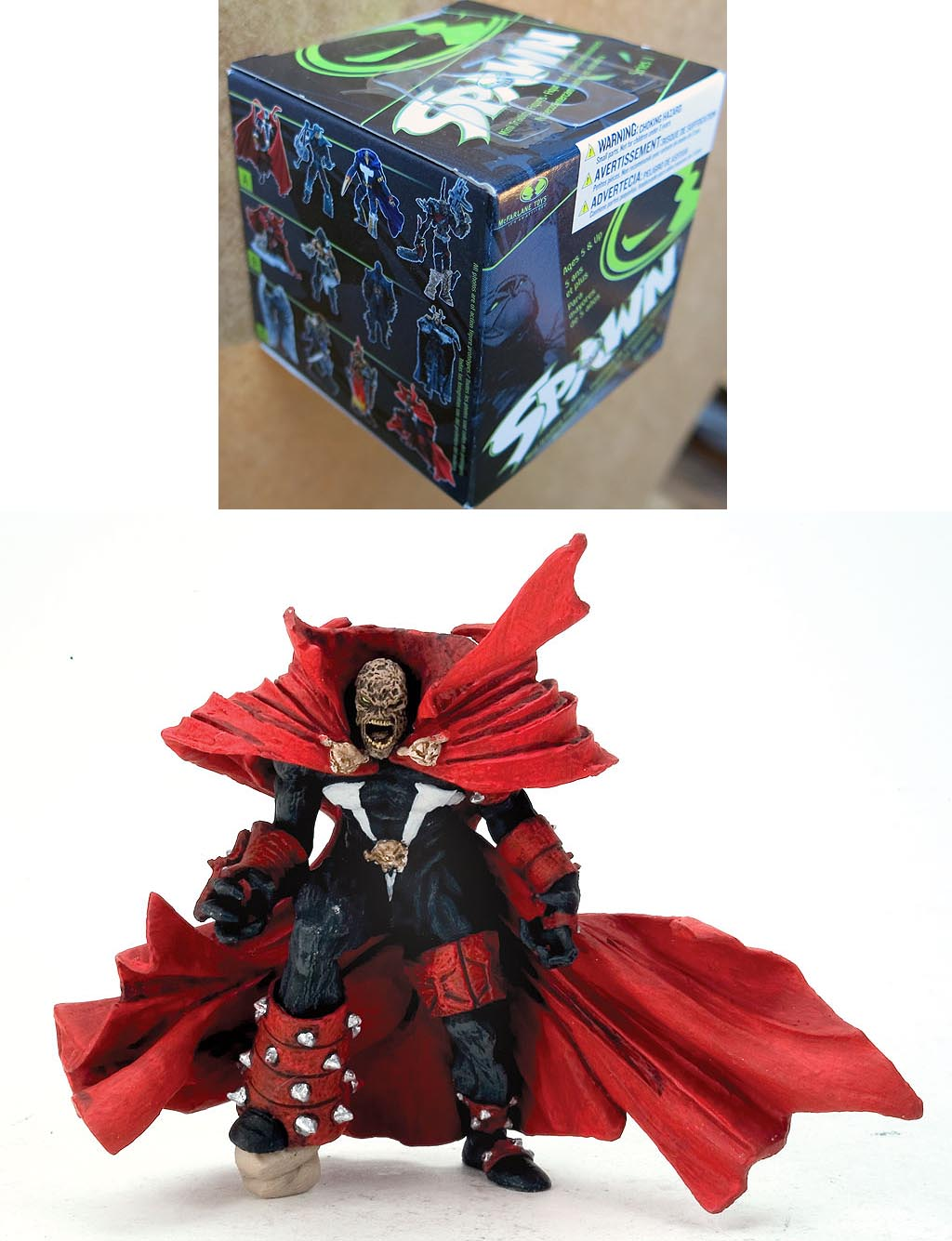 Spawn Mini 3 inch Trading Figure Series 1 Spawn issue 85