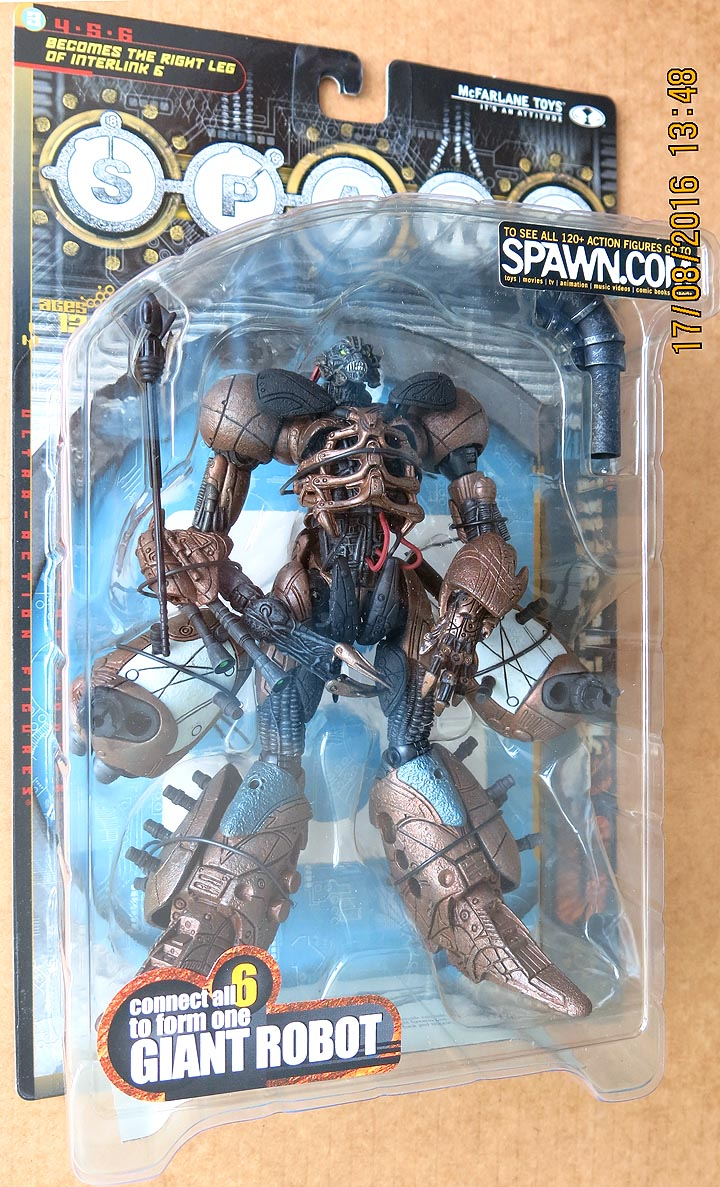 Spawn Series 18 (Interlink) RL 3 Action Figure