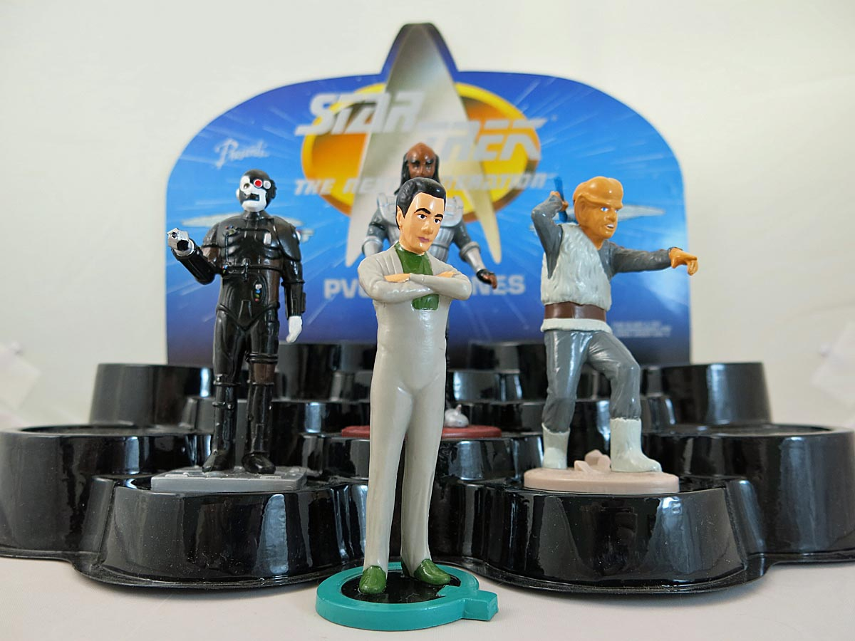 Star Trek The Next Generation PVC Figures Q Figurine