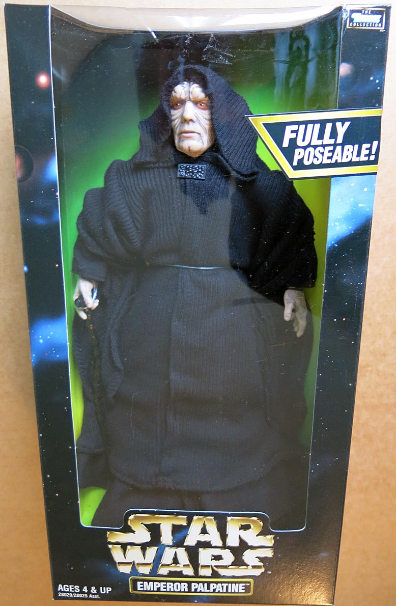 Star Wars 12 Inch Emperor Palpatine Boxed Figure