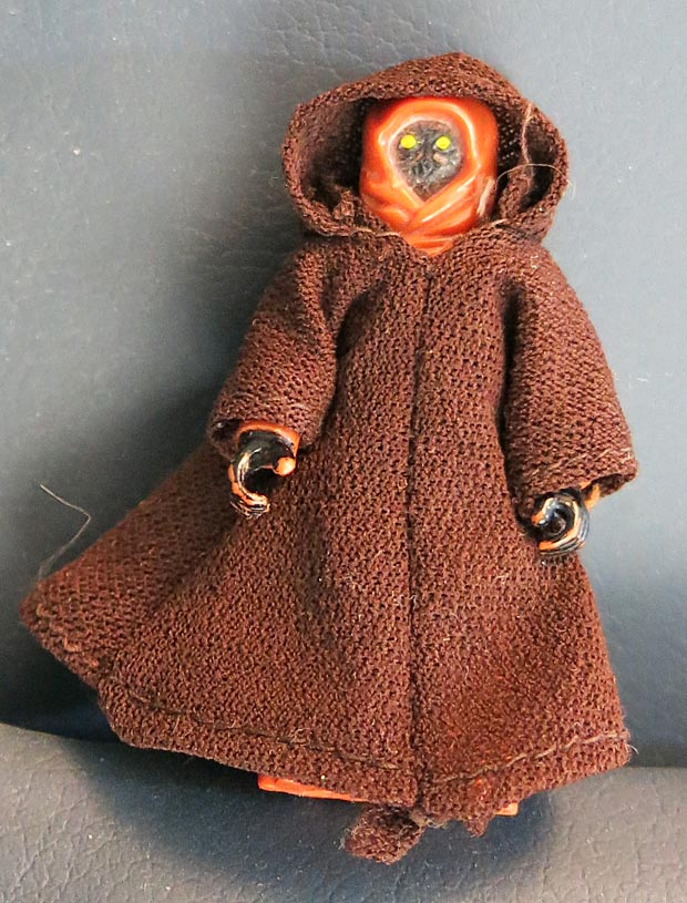 Star Wars 1977 A New Hope Jawa With Cape (Missing Blaster)