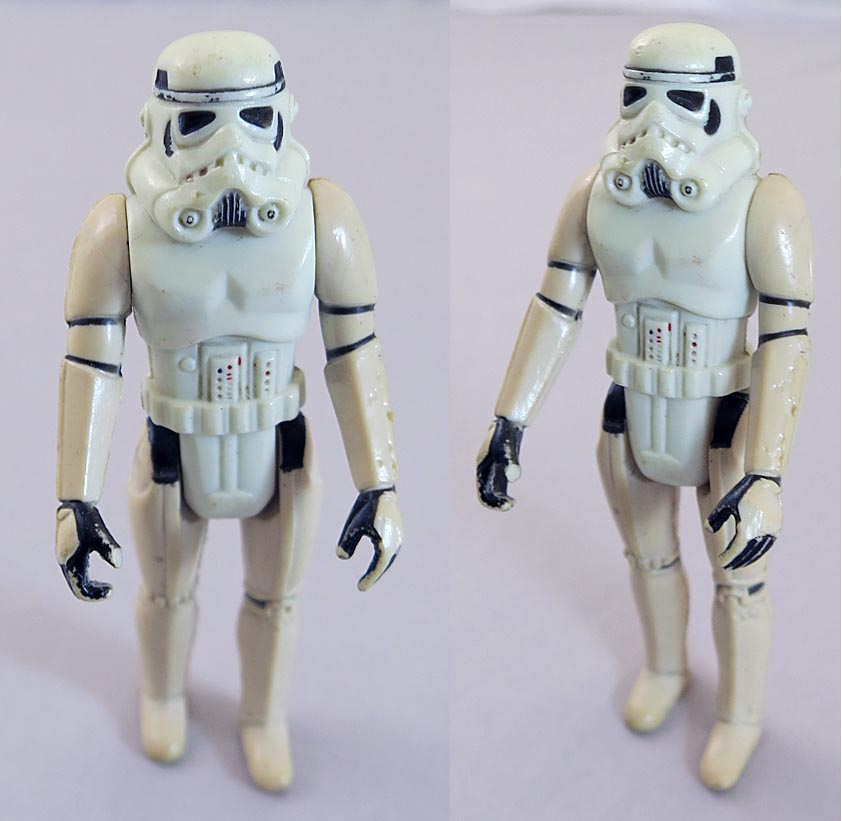 Star Wars 1977 A New Hope Stormtrooper (Missing Blaster)