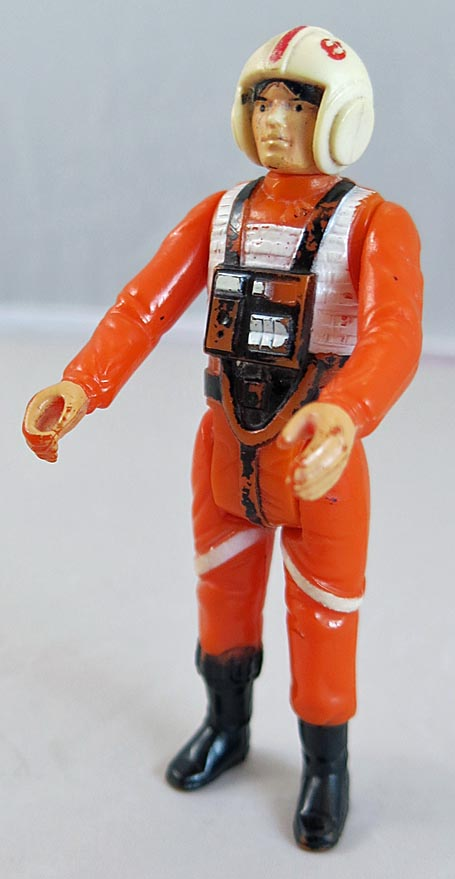 Star Wars 1978 A New Hope Luke Skywalker X-wing Pilot (Box Loose 9 )