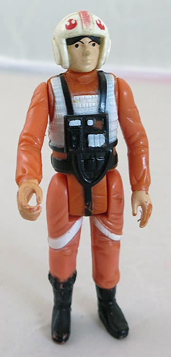 Star Wars 1978 A New Hope Luke Skywalker X-wing Pilot (Missing Weapon)