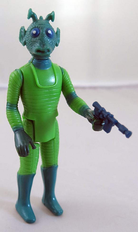 Star Wars 1978 A New Hope Power Greedo With Blaster (Complete)