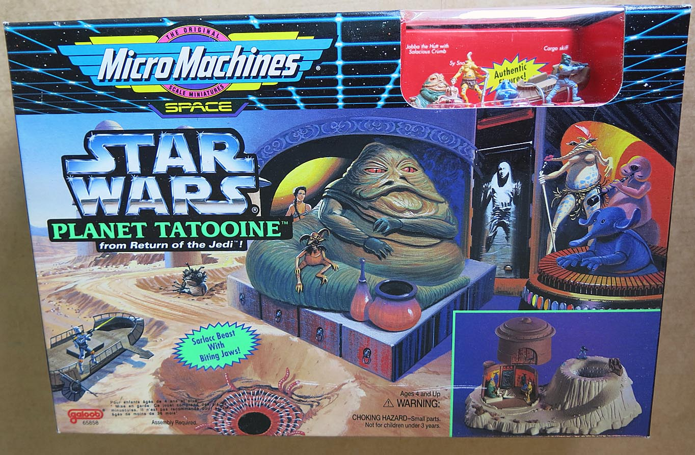 Star Wars Micro Machines Planet Tatooine Boxed Set