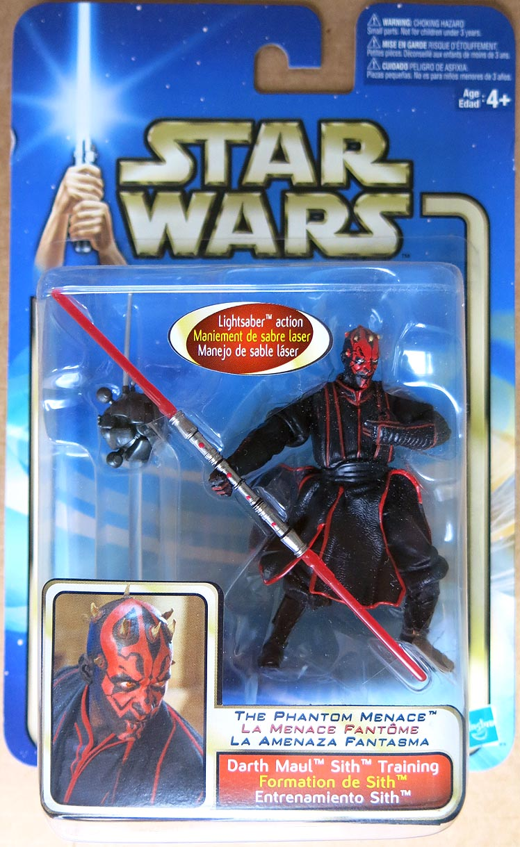 Star Wars The Phantom Menace Darth Maul Sith Training