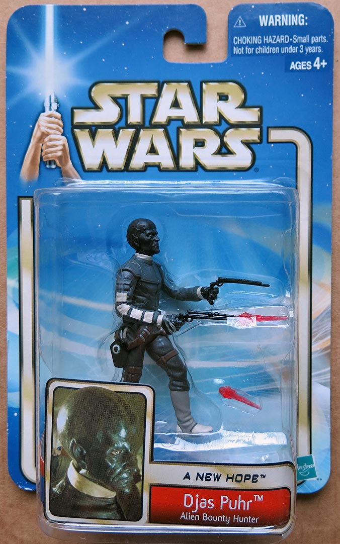 Star Wars ANew Hope Djas Puhr-Alien Bounty Hunter