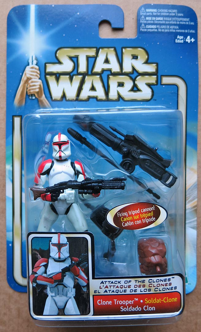 Star Wars AOTC-Coll 1 Clone Trooper
