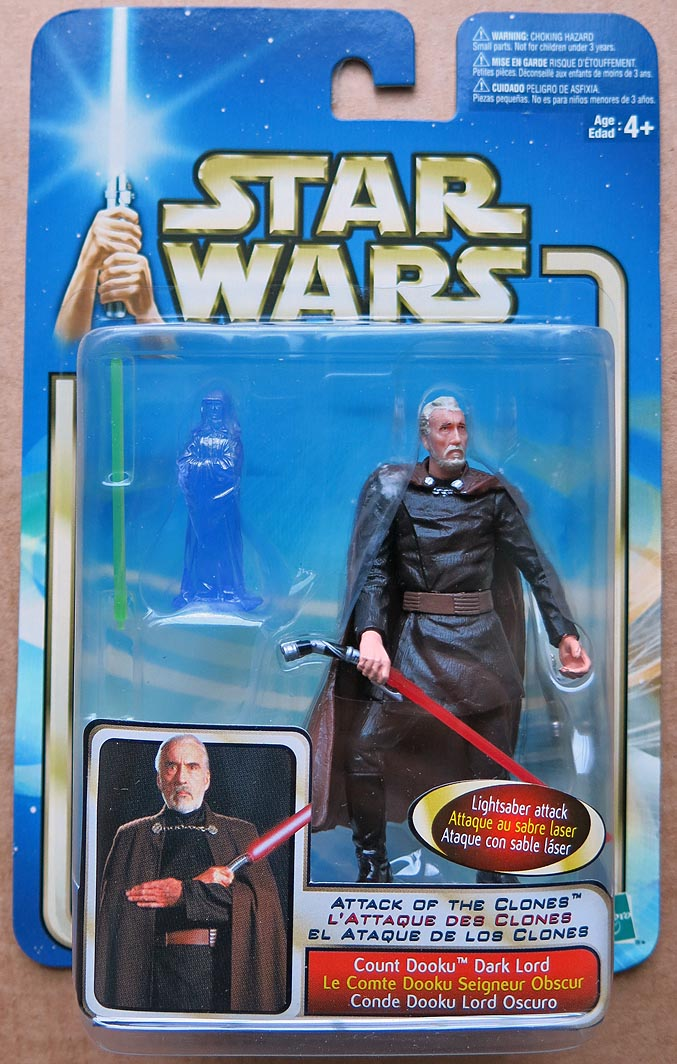 Star Wars AOTC-Coll 1 Count Dooku-Dark Lord