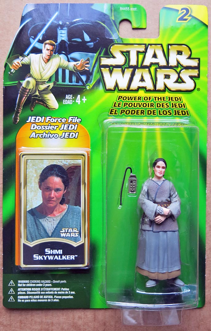 Star Wars POTJJedi Force File Series 2 Shmi Skywalker