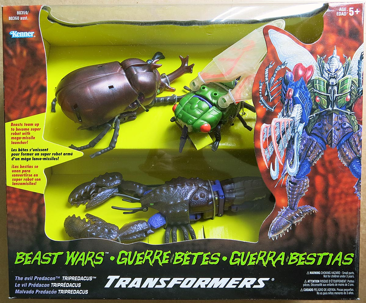 Transformers Beast Wars Tripredacus Boxed Set