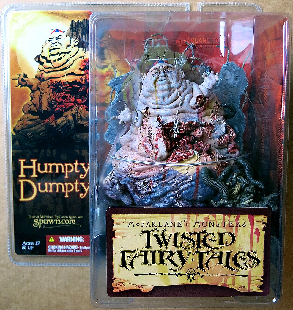 Twisted Fairy Tales Humpty Dumpty Action Figure