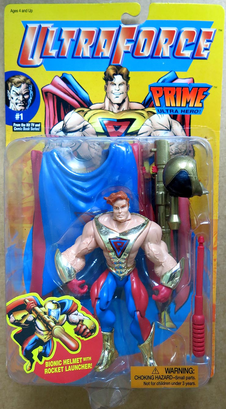 Ultraforce Prime Action Figure