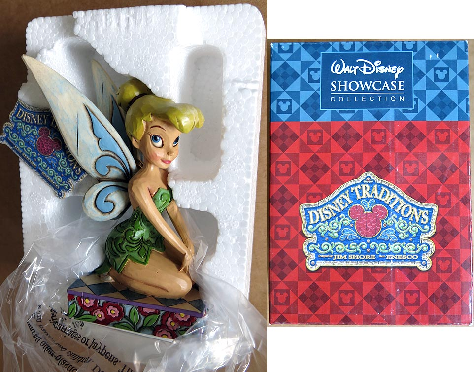 Walt Disney Showcase Collection Disney Traditions A Pixie Delight Statue