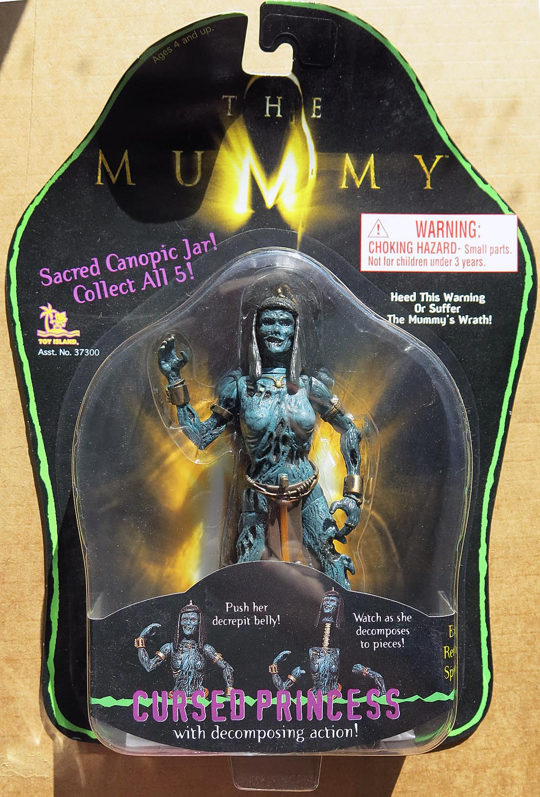 Mummy (The) Movie Cursed Princess Action Figure