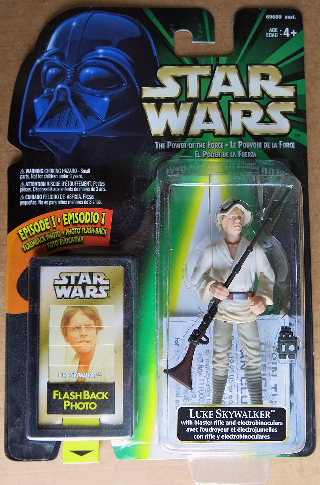 Star Wars POTF Flashback Photo Luke Skywalker Action Figure