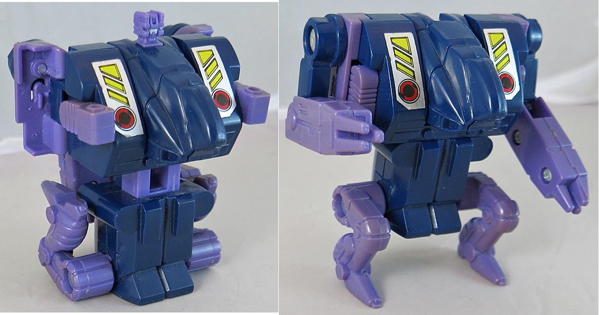Transformers 1987 G 1 Blot Action Figure (Loose)